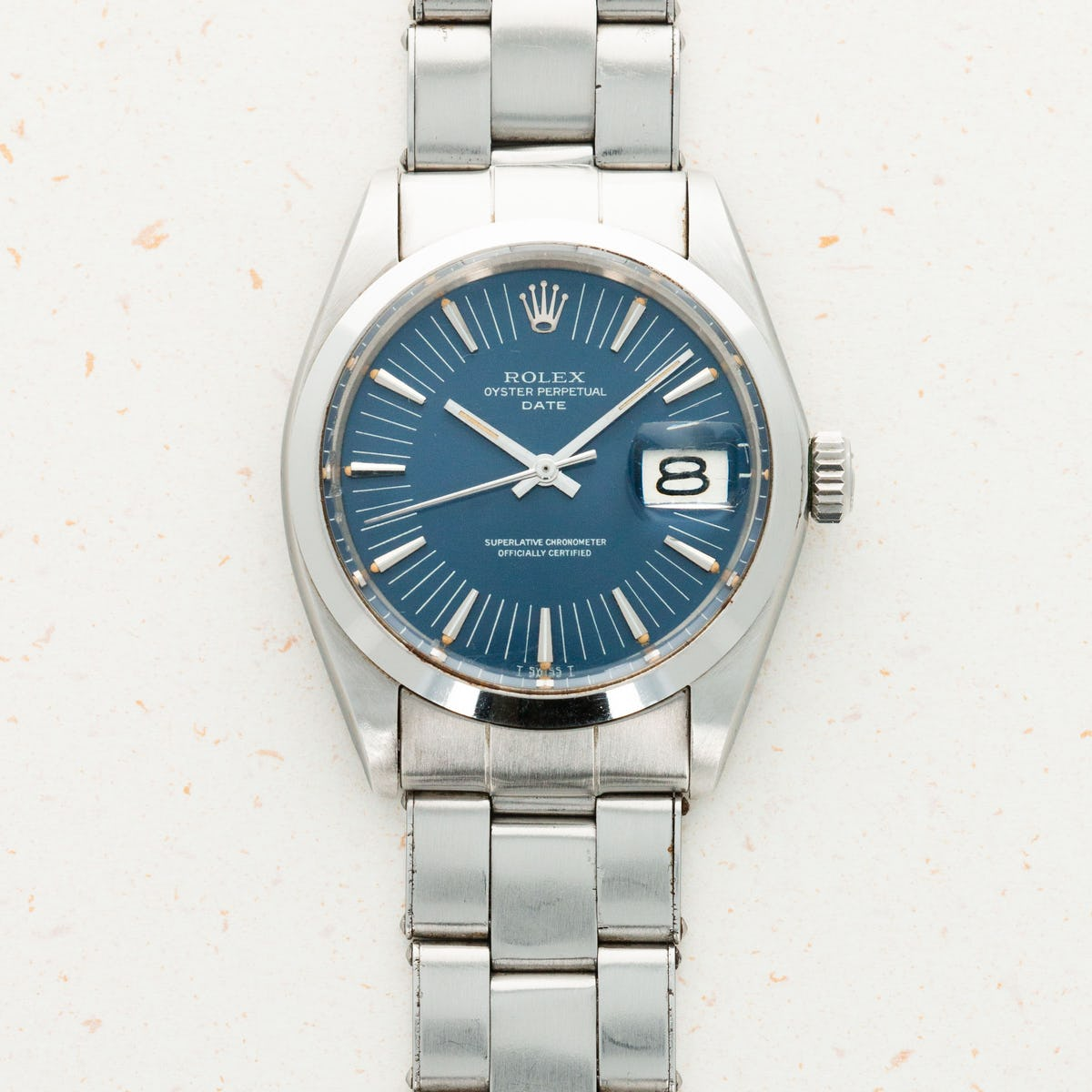 Thumbnail for Rolex Oyster Perpetual Date Long Index 1500