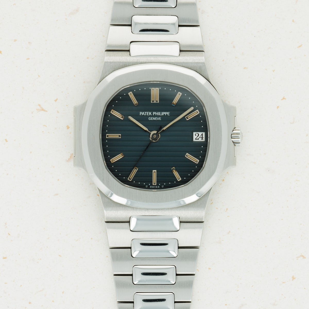 Thumbnail for Patek Philippe Stainless Steel Nautilus Automatic 3800