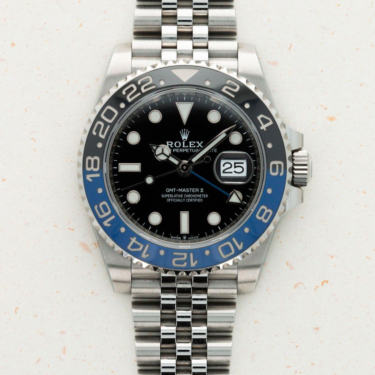 Thumbnail for Rolex GMT Master II BATGIRL 126710 BLNR