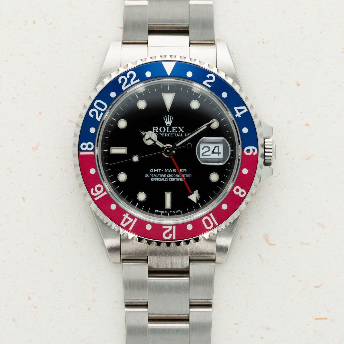Thumbnail for Rolex GMT-Master Pepsi 16700